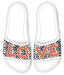 Drew Barrymore ♥ Crocs Sloane Graphic Slide