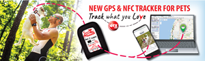 New GPS & NFC Tracker for Pets
