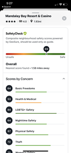 The award-winning Travel SafetyCheck feature built into Etta, the corporate travel planning and management platform from Deem, is now available on the Etta for mobile platforms.   SafetyCheck offers more than just current pandemic-related information; it also includes neighborhood safety scores based on various criteria, including women's safety, nighttime safety, LGBTQ+ safety, and more. All this information is presented logically and clearly right within the booking process, where travelers need it most to make the best decisions for themselves and their companies.