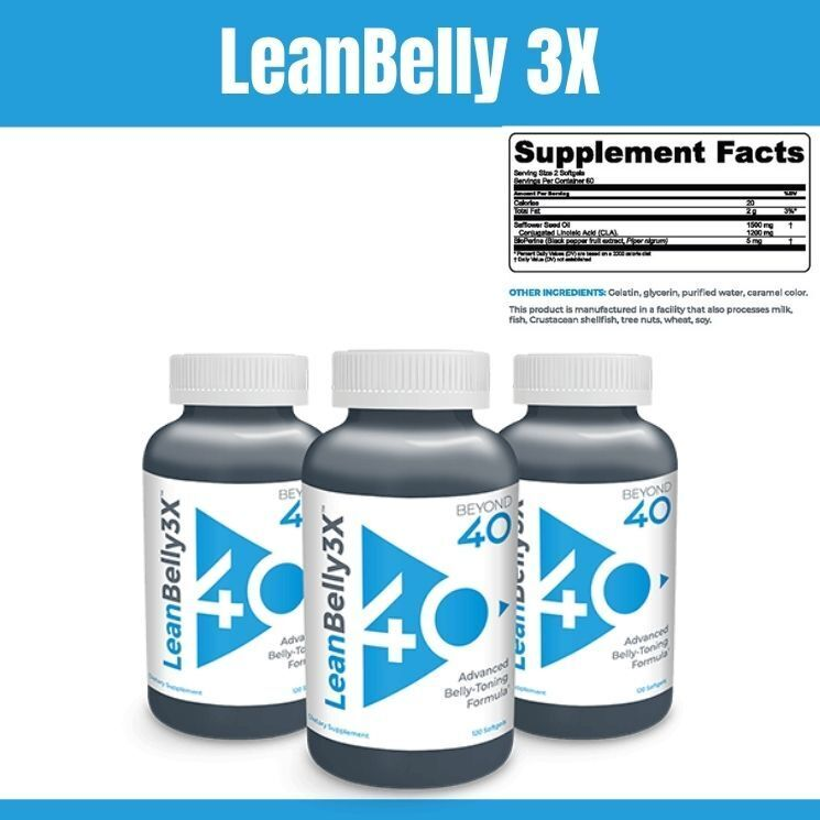 Lean Belly 3X supplement - Full info on the weight management and weight loss Lean Belly 3X by Beyond 40. Details on Lean Belly 3X, reviews, where to buy, ingredients, benefits, side effects, dosage.