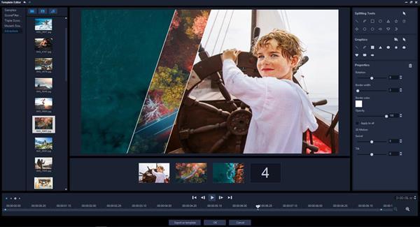Split Screen Video with Keyframes in VideoStudio Ultimate 2019