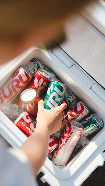 GURU Organic Energy Drinks