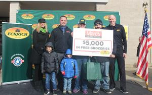 Eckrich®, Operation Homefront, and Marc's Grocery Stores Partnered to Honor Local Military Family