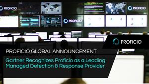 Gartner Recognizes Proficio as a Leading Managed Detection and Response Provider