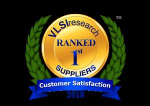 VLSIresearch #1 in Customer Satisfaction