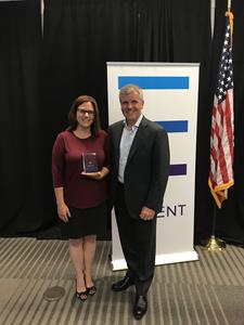 Catherine Wotring awarded with Navient Navigator Leadership Award
