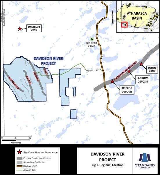 Fig. 1 Davidson River Regional Location Map
