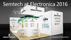 Semtech Features LoRa Technology and New Wireless Charging Platforms at electronica