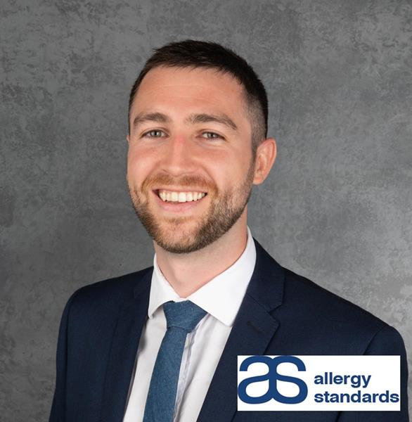 Dr Joey DeCourcey Allergy Standards' Senior Scientific Officer