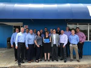 H.B. Fuller Faurecia Strategic Supplier Award