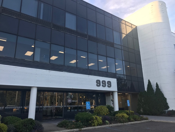LBi Software's new three-story building is located at 999 Walt Whitman Road in Melville, New York.
