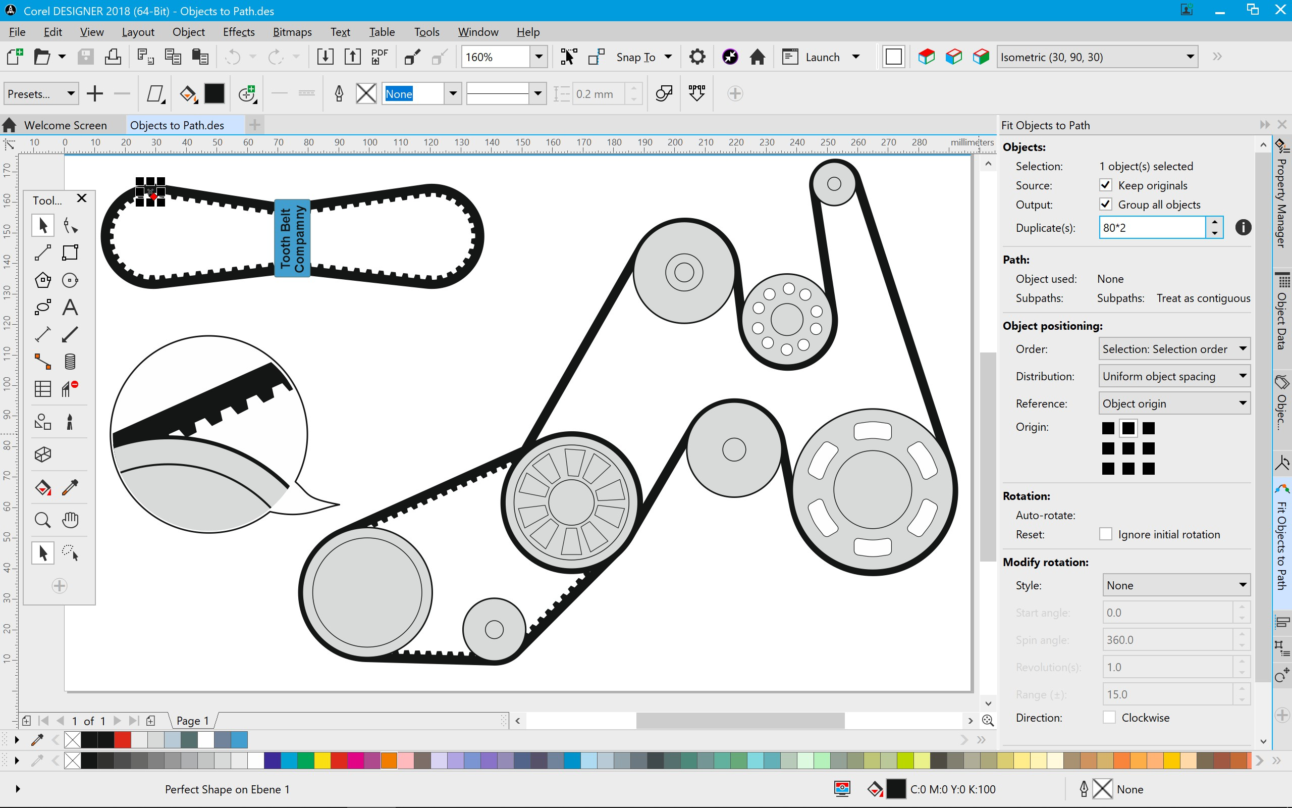 CorelDRAWTechnicalSuite2018-DESIGNER-Fit-Objects-to-Path-EN