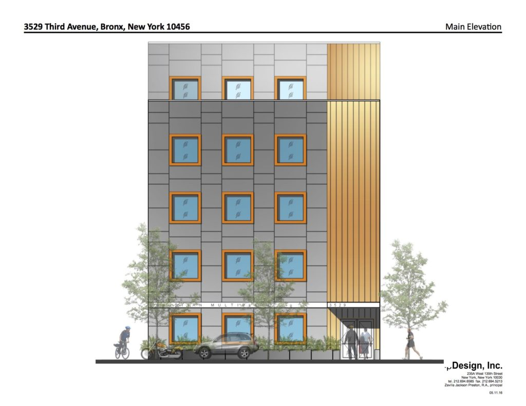 Angels of Harlem Building Design