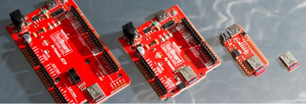 To make getting started with the Artemis module easy, SparkFun has also launched three carrier boards with the FCC/IC/CE approved module: SparkFun RedBoard Artemis, SparkFun RedBoard Artemis Nano and SparkFun RedBoard Artemis ATP (All the Pins). Each of these boards has been equipped with Qwiic® connectors, enabling immediate access to the extensive SparkFun Qwiic ecosystem, so users can easily integrate more than 70 daisy-chainable sensors and accessory boards with no soldering necessary.
