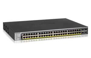 48-Port Gigabit PoE+ Smart Managed Pro Switch (GS752TPP)