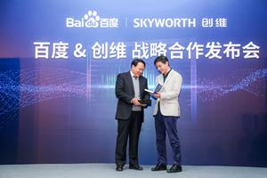 Baidu and Skyworth Join Forces to Build Future AI Ecosystem for Smart Homes