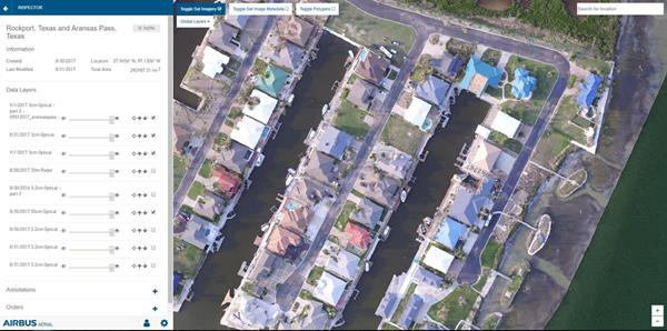 Airbus Aerial Hurricane Harvey data