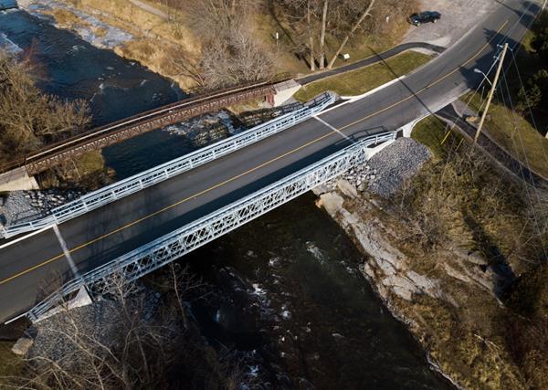 Acrow Bridge, Port Hope, Ontario, Canada