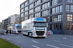 NXP and DAF Trucks Commit to Set New Benchmark in Truck Platooning: 30 Times Faster than Human Reaction Time