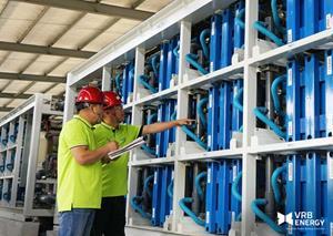 VRB Energy Commissions 3MW 12MWh Vanadium Redox Battery Energy