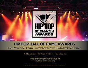 Hip Hop Hall of Fame Awards Promo