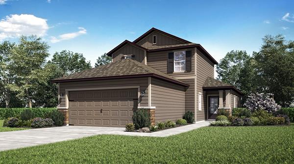 The Tomoka by LGI Homes will be available at the Creekside at Twin Creeks Grand Opening on Dec. 7, 2019.