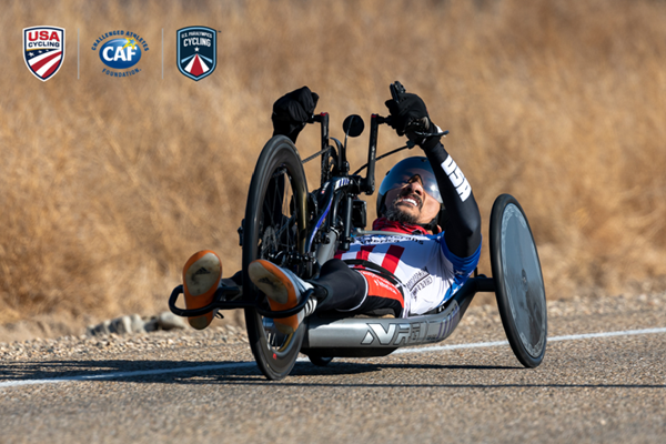 Will Groulx served in the United States Navy as a nuclear-trained electrician before a motorcycle accident left him paralyzed from the chest down. Will's Paralympic career began with wheelchair rugby, making three U.S. Paralympic Teams before switching to hand cycling where he won gold and two silver medals at the Rio Games in 2016. He was recently named to the Team USA roster for Tokyo 2020/2021.