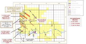 Updated Pipestone Energy Capital Program Map: