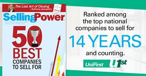 UniFirst Named Among Nation's Best Companies To Sell For