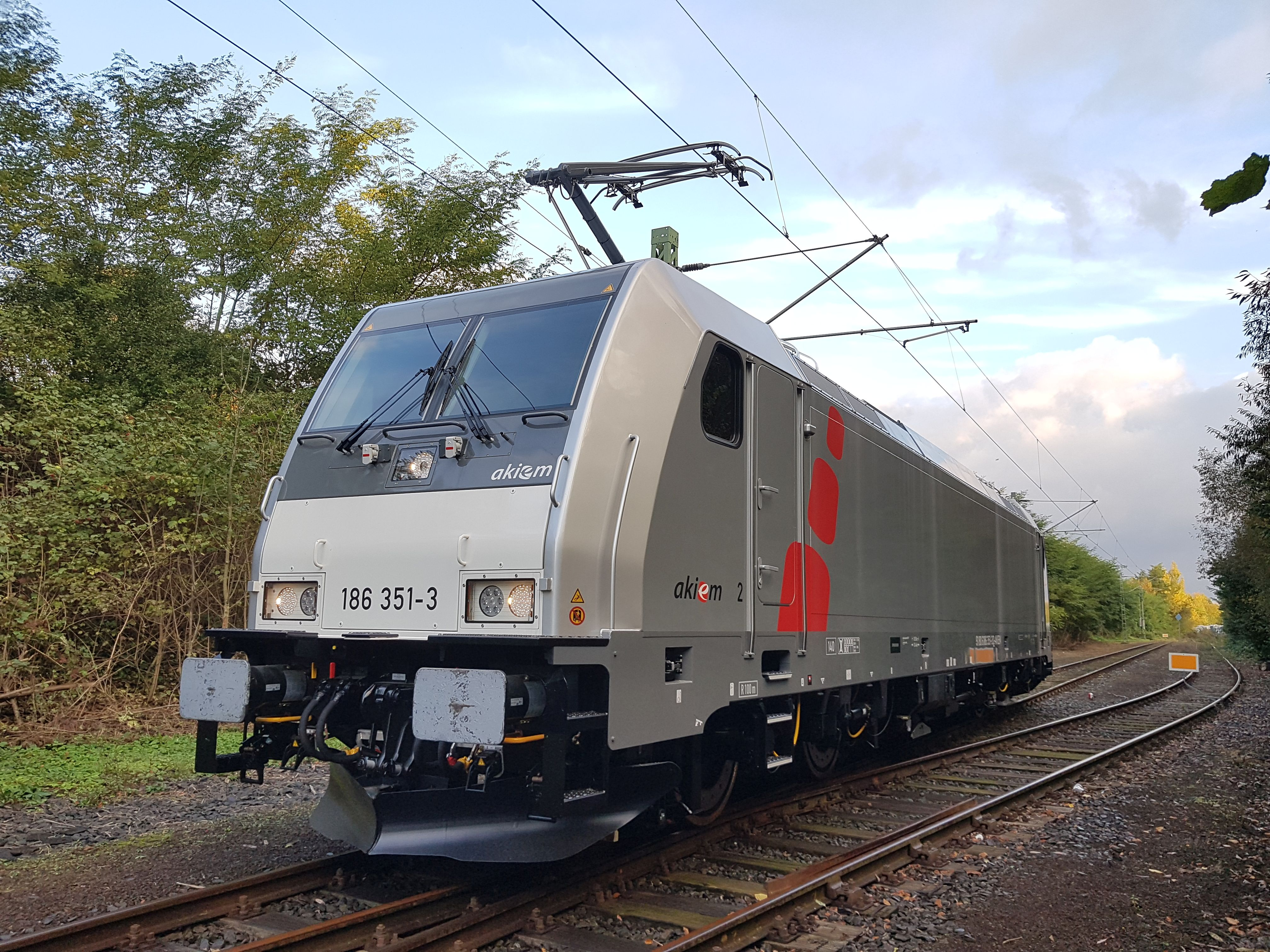 BOMBARDIER TRAXX MS locomotive