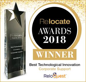 ReloQuest Inc. Wins Best Technological Innovation