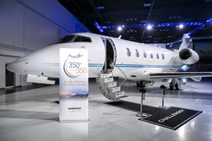 Bombardier Challenger 350 aircraft
