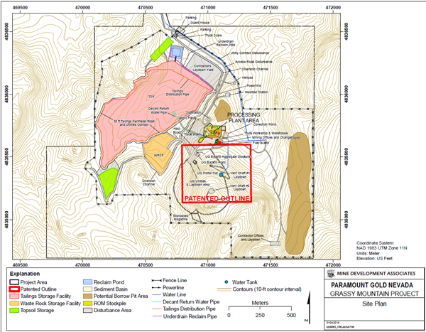 Paramount Gold Files Application for Conditional Use Permit for Its on