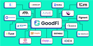 By joining GoodFi, some of the largest projects in DeFi are working together to improve education and adoption of DeFi with the goal of getting 100 million users by 2025.  Learn more at: http://goodfi.com/
