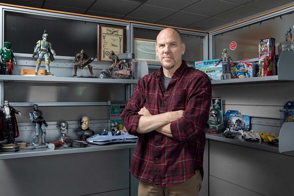 Tim Flattery, renowned Hollywood concept designer, CCS alumnus and Dean of Undergraduate Studies.