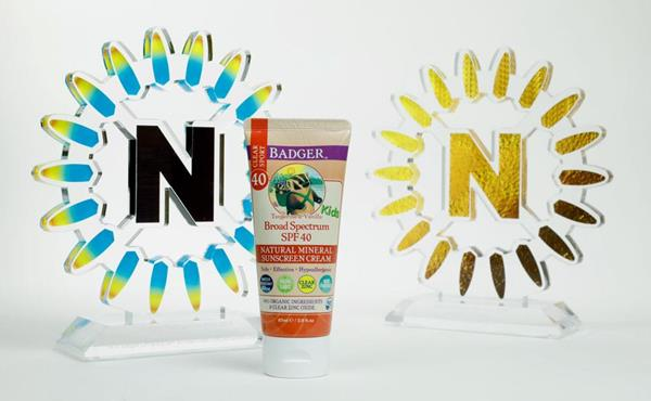 W.S. Badger Co wins a NEXTY Gold, and its reef safe mineral sunscreen wins a 2019 NEXTY Award for Best New Natural Kid's Product