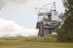 Aerojet Rocketdyne tests third RS-25 flight controller