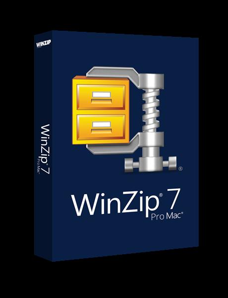 WinZip Mac 7 Pro Boxshot
