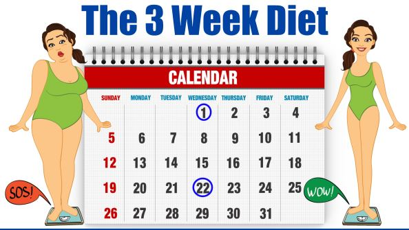 The 3 Week Diet Shows You How To Lose Weight Fast And Keep It Off