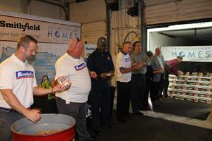 Smithfield's Helping Hungry Homes Tour Donates More Than 240K Servings