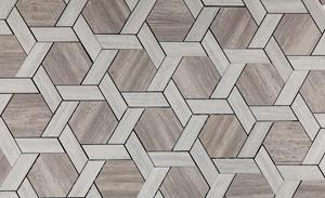 Taupe Blend Hex Weave