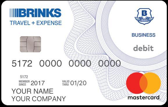 Brinks Example Card