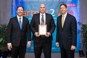 BAE Systems Honors Richardson Electronics, Ltd  with a Gold