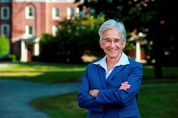 Another person who will receive an honorary doctorate is Dr. Susan J. Hunter. Hunter is the 20th president of the University of Maine and the president of the University of Maine at Machias, now a regional campus of UMaine. She was the University of Maine's first woman president.