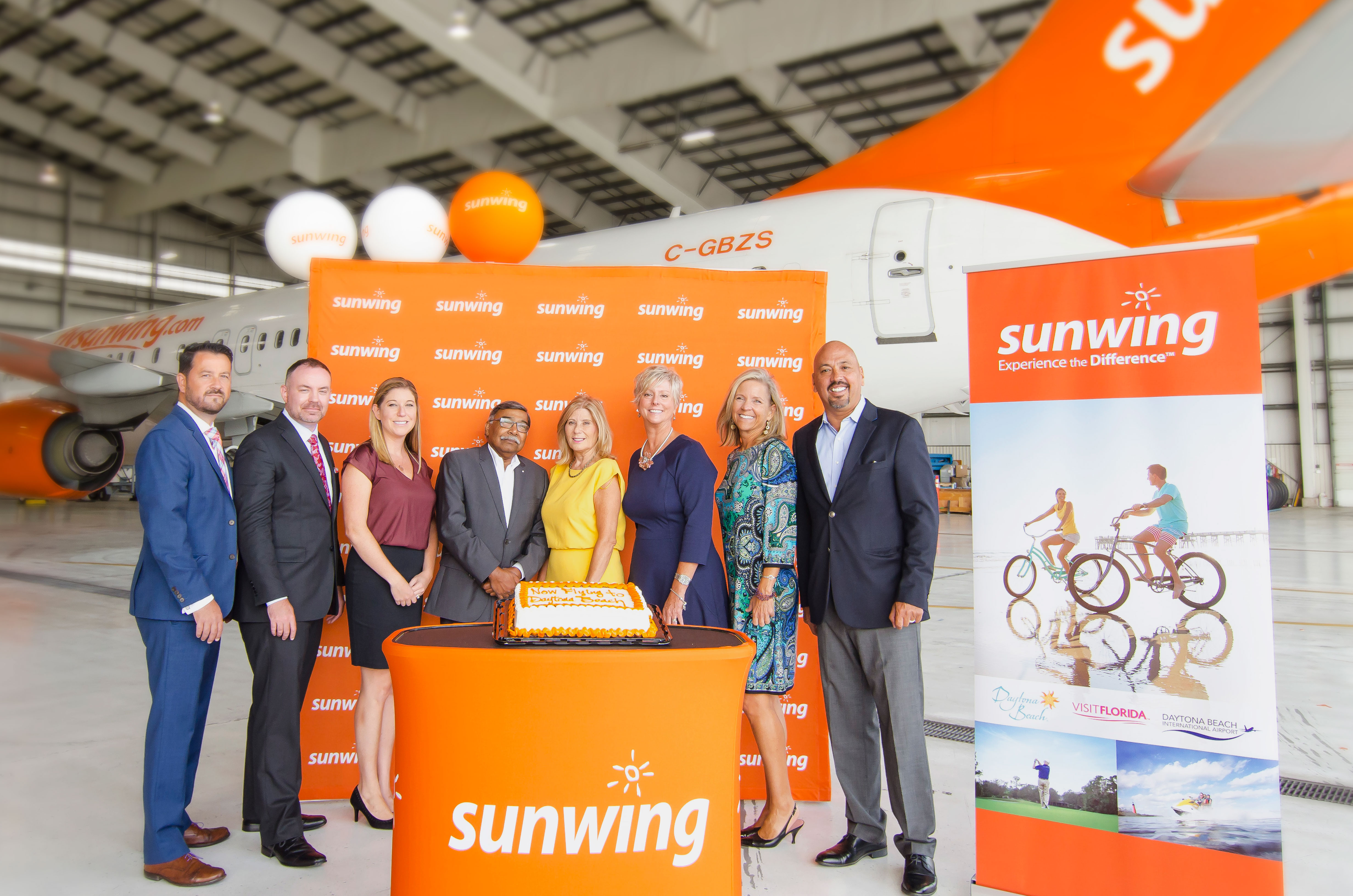 Sunwing flights to Daytona