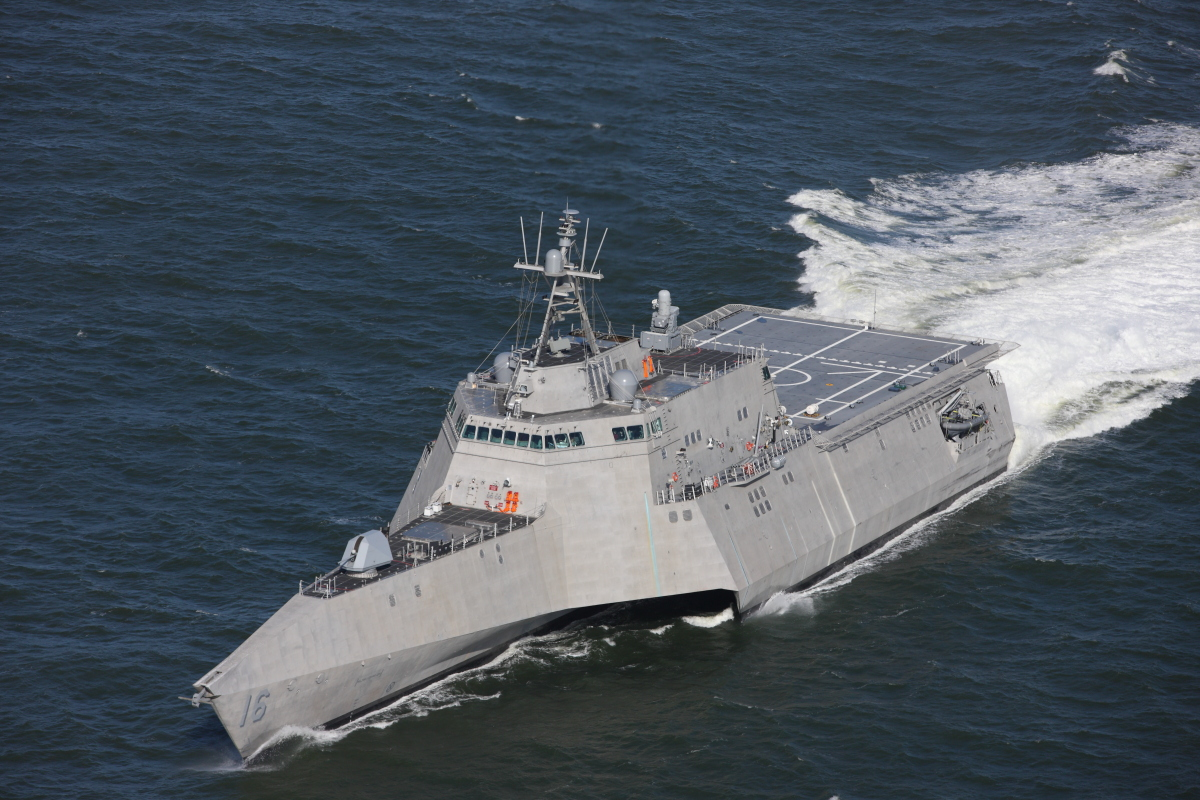 Austal USA Delivers Eighth Independence-Variant Littoral Combat Ship