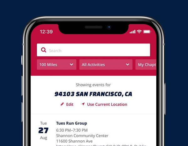 Team Red, White & Blue (Team RWB), one of the nation's leading veterans service organizations, has launched a new mobile app to engage veterans in events and activities better than ever before, with over 7k downloads in its first week of release.