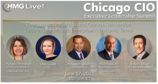 2021 HMG Live! Chicago CIO Executive Leadership Summit