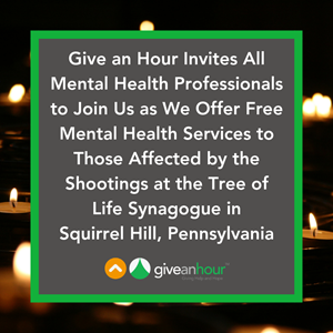 Give An Hour Extends Free Mental Health Support To Tree Of Life