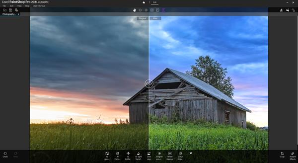 PaintShop Pro 2021 Ultimate Photography Workspace